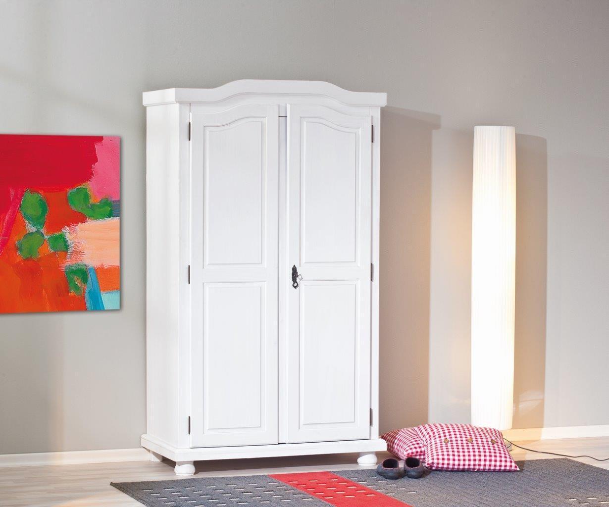 ... Dielenschrank Schlafzimmerschrank Hedda Kiefer weiss  eBay