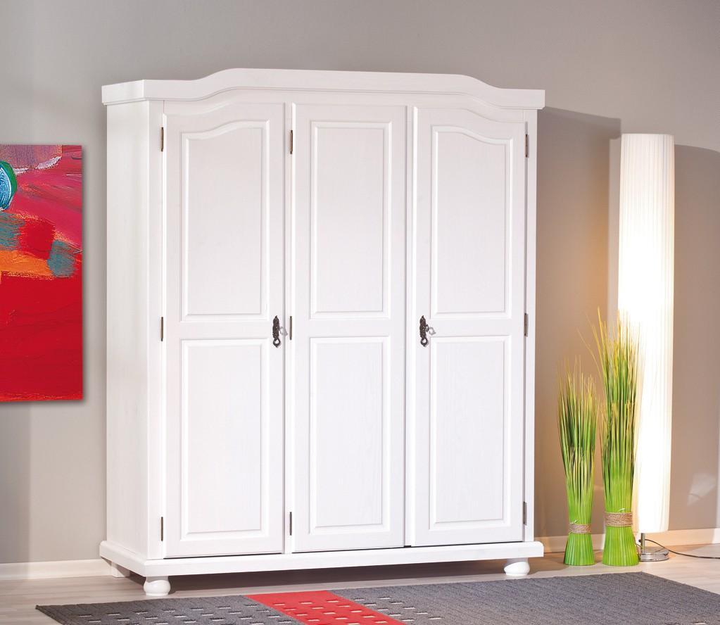 Schlafzimmerschrank weiß landhausstil  Kleiderschrank Weiß Modern | gispatcher.com