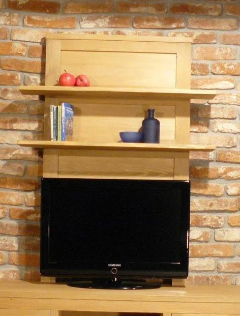 Woodline TV Paneel Bavaria Fichte Massivholz gebürstet