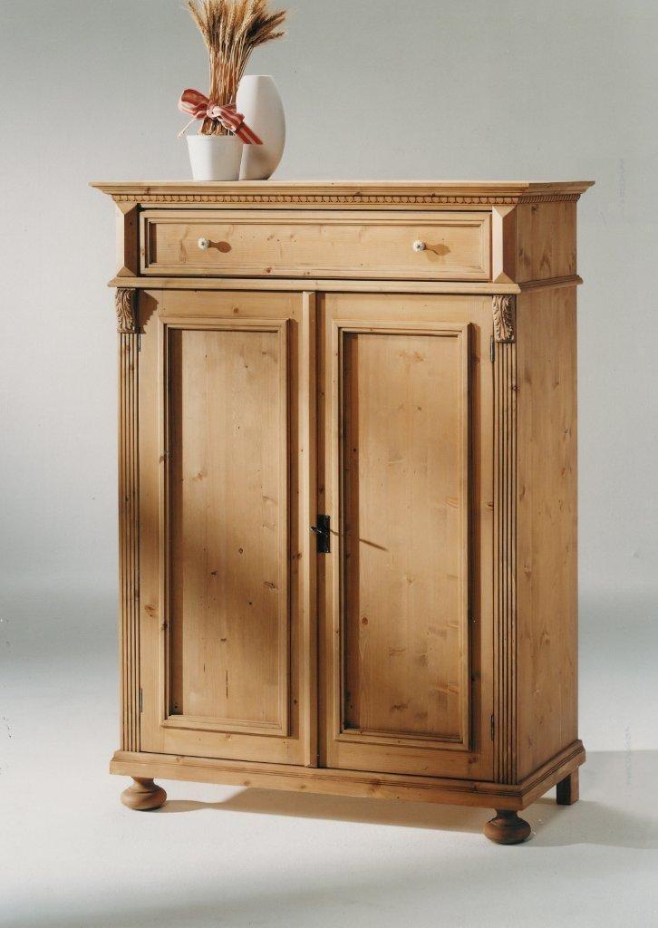 vertiko alina 1465 fichte antik oder wei gewischt von gradel. Black Bedroom Furniture Sets. Home Design Ideas