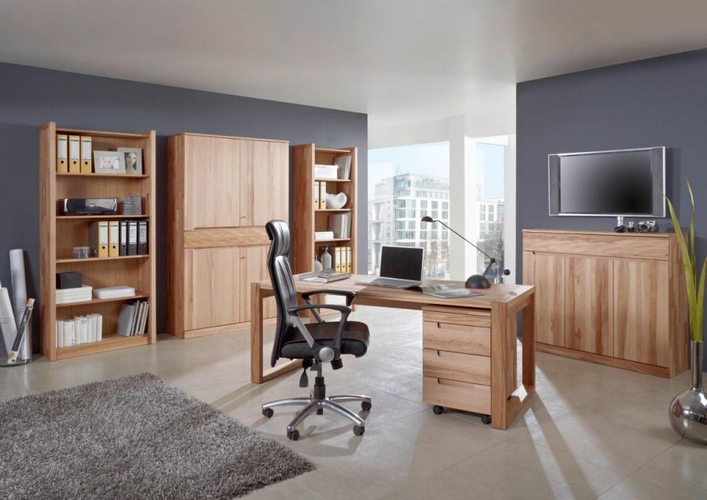 regal b cherregal arcona 4 fachb den 88 cm kernbuche ge lt. Black Bedroom Furniture Sets. Home Design Ideas