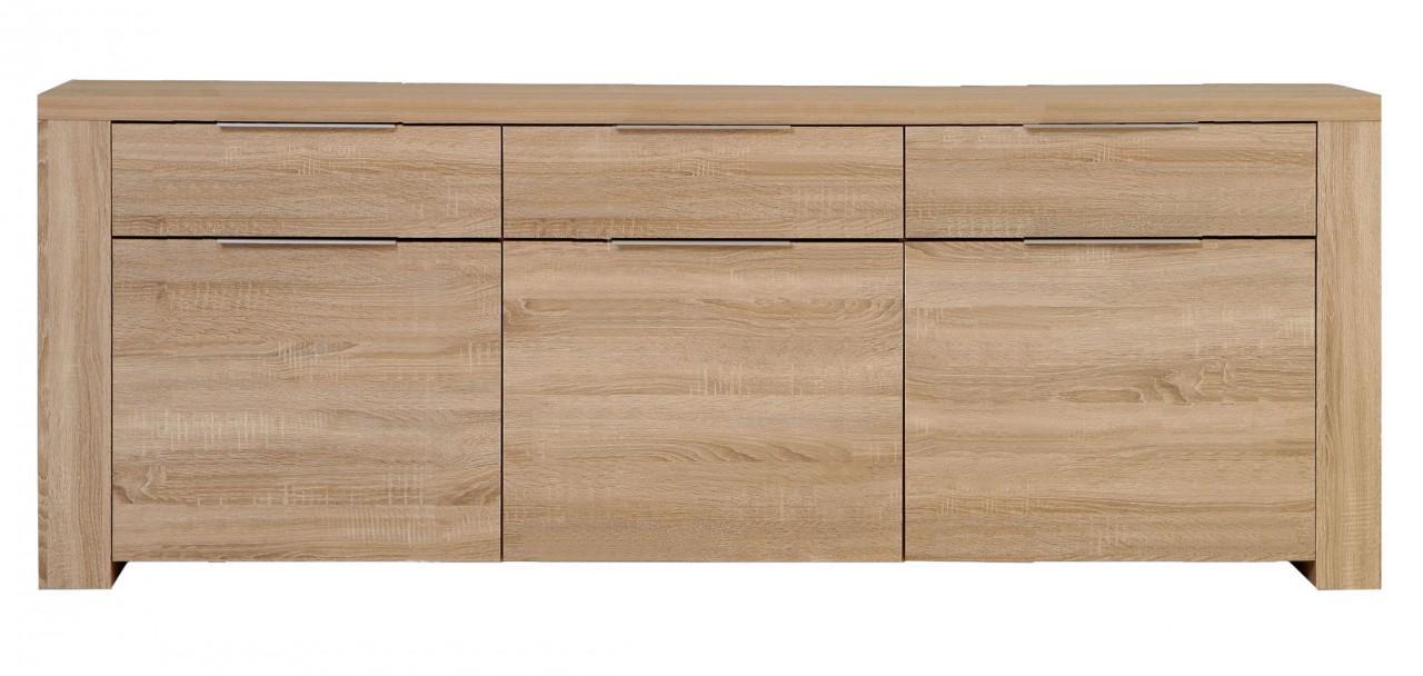 sideboard schmal sonoma eiche m bel und heimat design. Black Bedroom Furniture Sets. Home Design Ideas