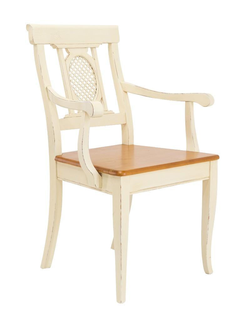 armlehnstuhl verona stuhl mit armlehne ziergitter fichte massiv bild. Black Bedroom Furniture Sets. Home Design Ideas