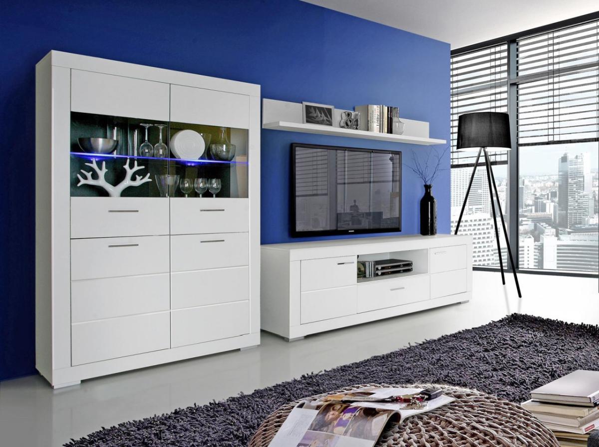 wohnwand matt sonstige preisvergleiche. Black Bedroom Furniture Sets. Home Design Ideas