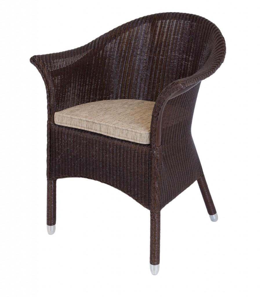 loom sessel new orleans farbe kolonial inkl polsterauflage. Black Bedroom Furniture Sets. Home Design Ideas