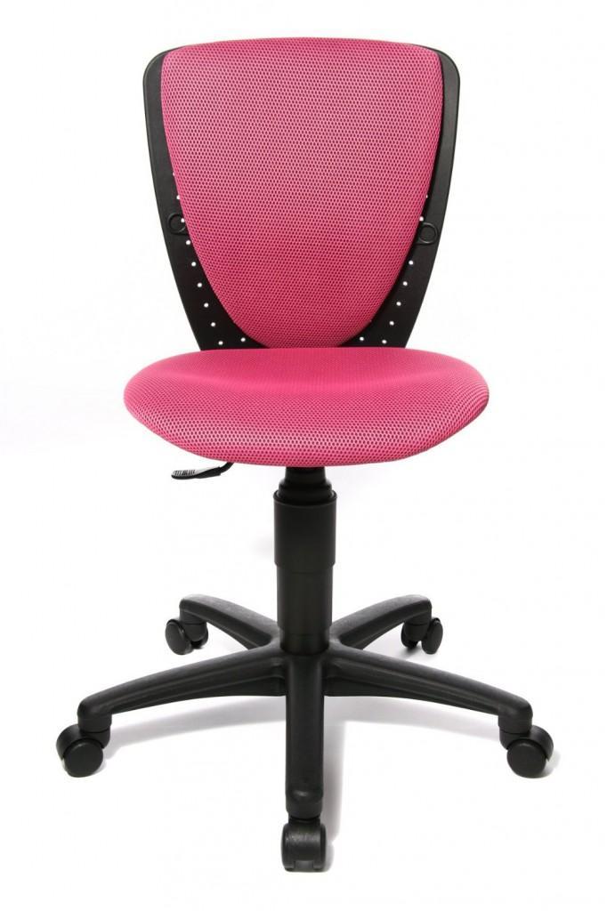 kinder stuhl high s cool pink drehstuhl von top star. Black Bedroom Furniture Sets. Home Design Ideas