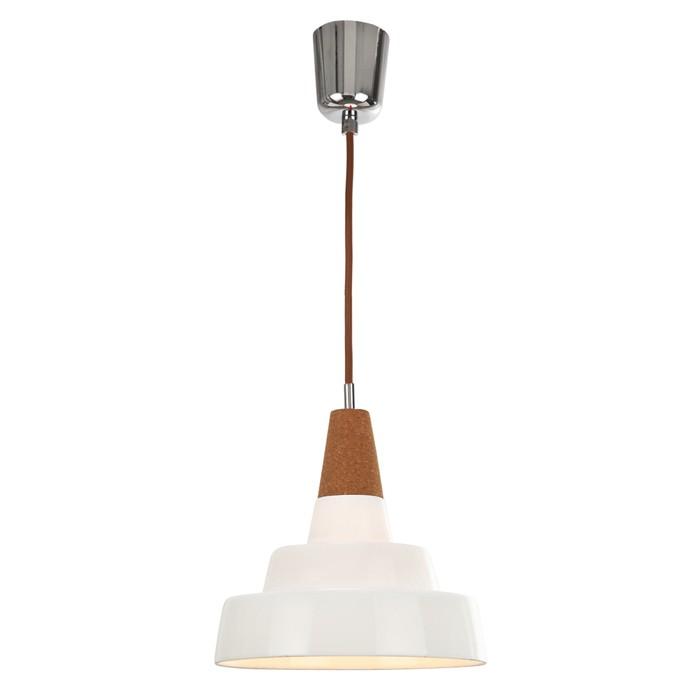 Hängeleuchte BONE 316, kleine Pendelleuchte mit weißem Porzellanschirm