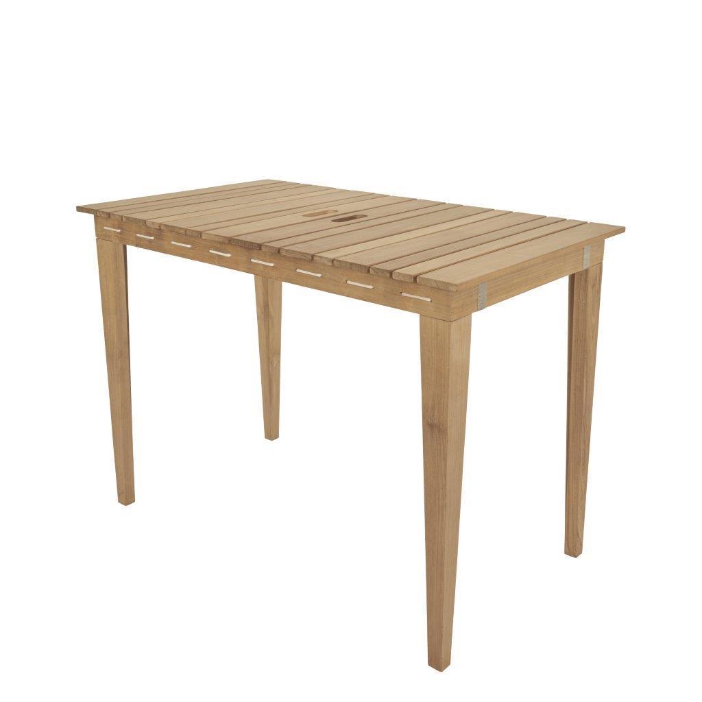 Esstisch Gartentisch DRY UNDER aus Teak, 106 x 60 cm