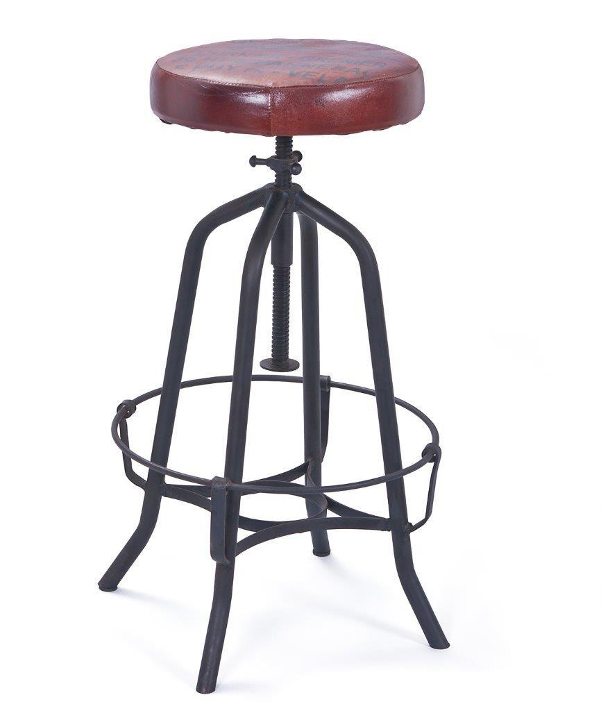 vintage barhocker cardiff h henverstellbar. Black Bedroom Furniture Sets. Home Design Ideas