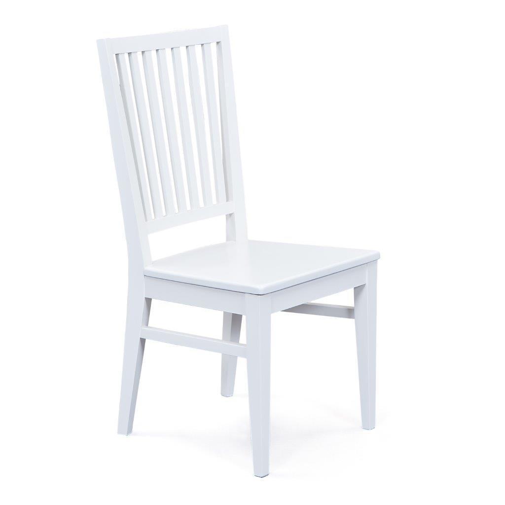 2er Set Stuhl CASSALA 9.1 Buche Massivholz Altweiß lackiert