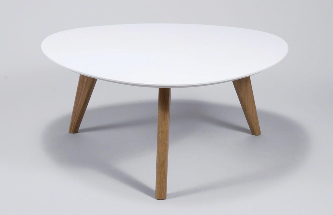 design wohnzimmertisch:Wohnzimmertisch 3397 Design-Couchtisch Platte Weiß lackiert Bild-2