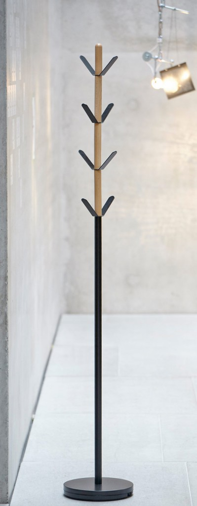 Kleiderständer YORK Design Garderobe Schwarz von Jan Kurtz