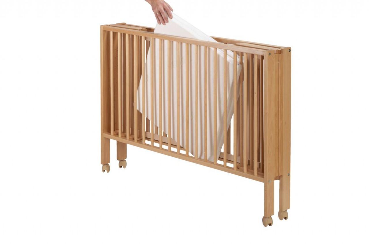 klappbares kinderbett reisebett tissi inkl matratze und. Black Bedroom Furniture Sets. Home Design Ideas
