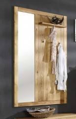 Garderobe Spiegel Wandpaneel Casa 1400 Wildeiche massiv geölt v. Henke