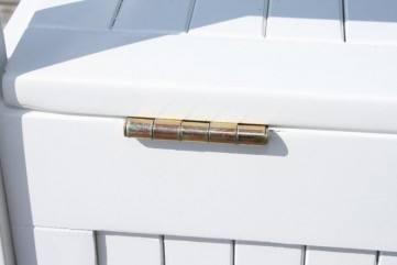 gartenbank mit truhe truhenbank fsc akazie wei 3 sitzig. Black Bedroom Furniture Sets. Home Design Ideas