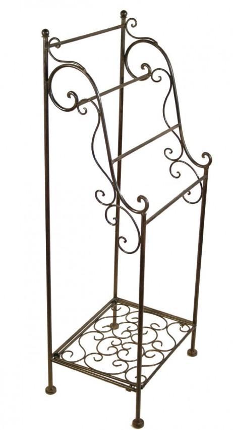 Gartenmobel Teak Und Stahl : Metall Handtuchhalter BAGOLINO im Landhausstil
