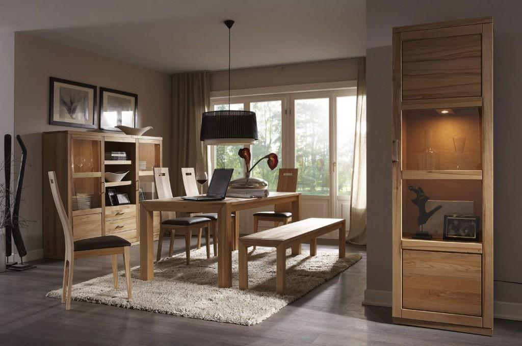 esszimmer bianca 02 kernbuche oder wildeiche. Black Bedroom Furniture Sets. Home Design Ideas