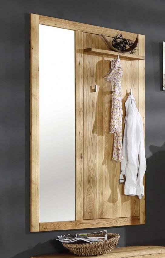 garderobe mit spiegel garderobe wandpaneel casa mit spiegel wildeiche massiv ge lt garderobe. Black Bedroom Furniture Sets. Home Design Ideas