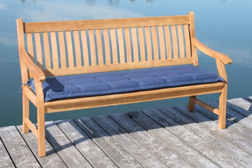 gartenbank hemingway 4 sitzig aus fsc eukalyptus mit armlehne. Black Bedroom Furniture Sets. Home Design Ideas