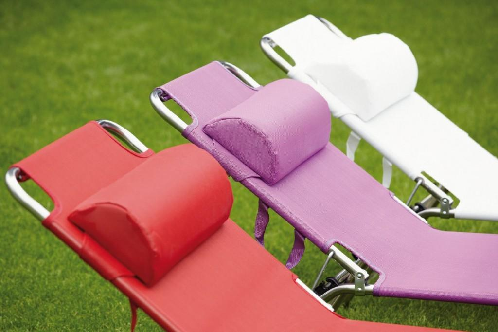 Zurbruggen Gartenmobel Prospekt : Fiam Nackenrolle passend zu Amigo Sonnenliegen