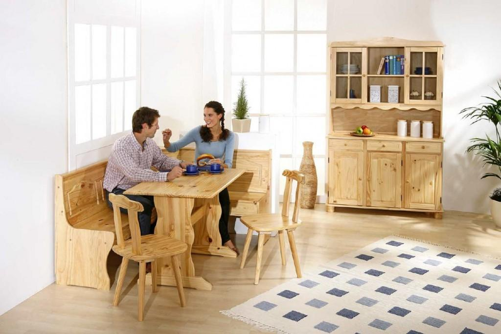 eckbank eckbankgruppe tirol komplette essgruppe in kiefer massivholz. Black Bedroom Furniture Sets. Home Design Ideas