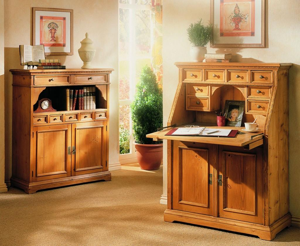 sideboard victoria fichte massiv gewachst oder lackiert 7 schubladen. Black Bedroom Furniture Sets. Home Design Ideas