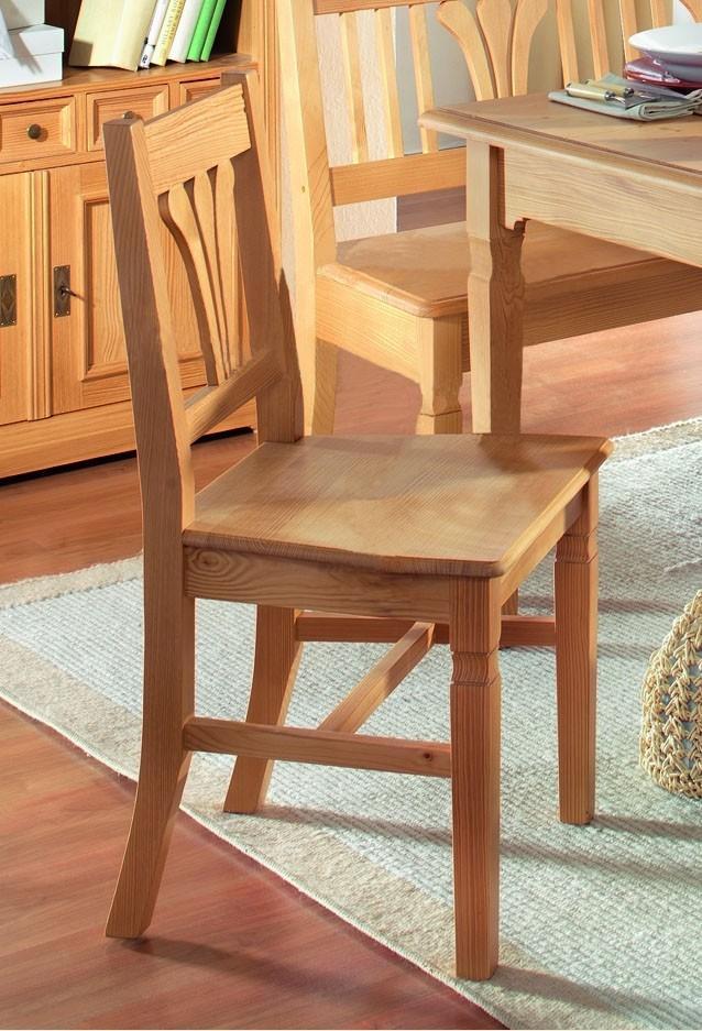 stuhl victoria fichte massiv gewachst oder lackiert. Black Bedroom Furniture Sets. Home Design Ideas