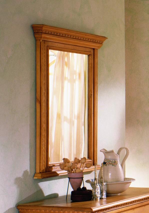 spiegel victoria 100 x 80 fichte massiv gewachst oder lackiert. Black Bedroom Furniture Sets. Home Design Ideas