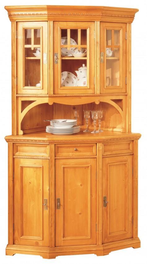 eckbuffet victoria fichte massiv gewachst oder lackiert. Black Bedroom Furniture Sets. Home Design Ideas