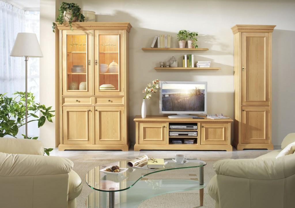 tv anrichte victoria ad 509 fichte massiv. Black Bedroom Furniture Sets. Home Design Ideas