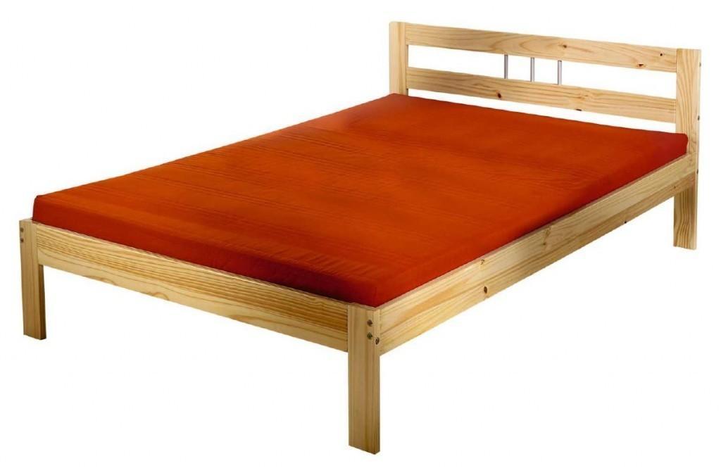bett jana kiefer massivholz 90 x 200 natur lackiert. Black Bedroom Furniture Sets. Home Design Ideas