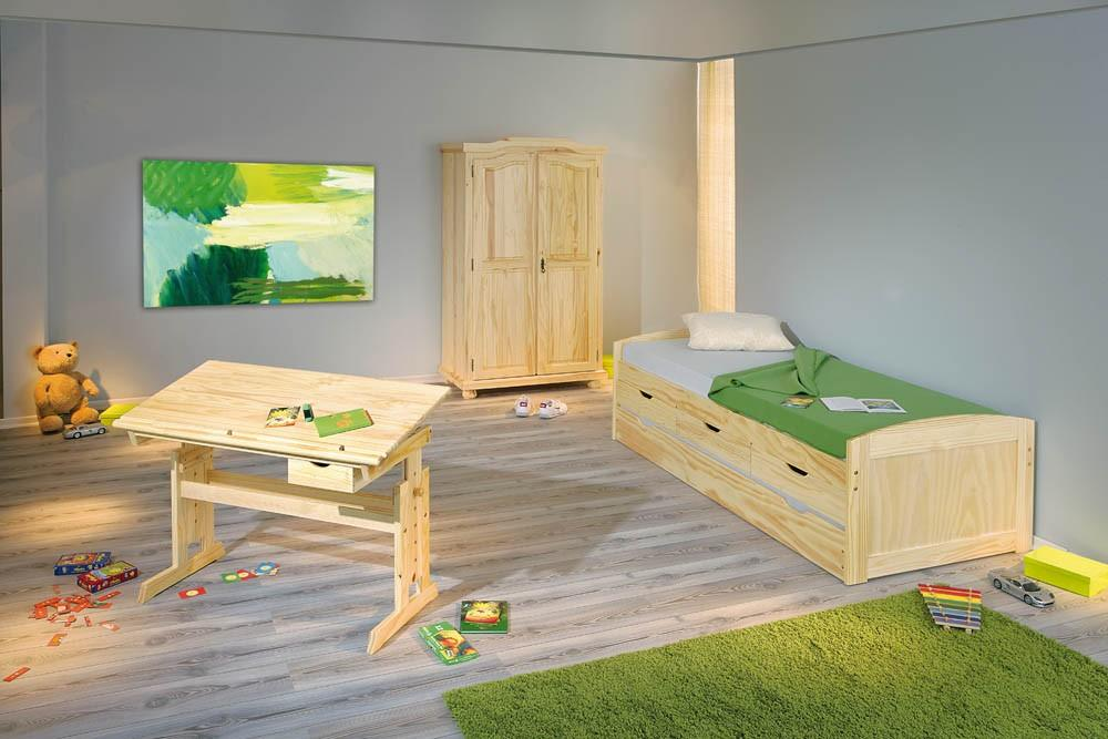 kinderzimmer jugendzimmer genf julia marinella kiefer massivholz ebay. Black Bedroom Furniture Sets. Home Design Ideas