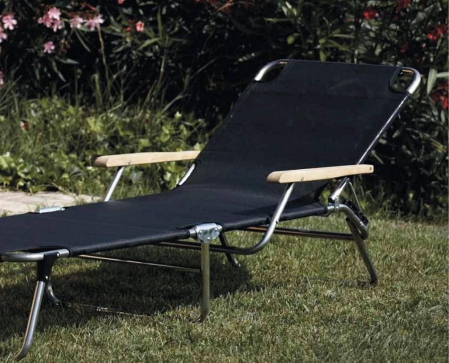jan kurtz sonnenliege strandliege amigo bezug schwarz mit. Black Bedroom Furniture Sets. Home Design Ideas