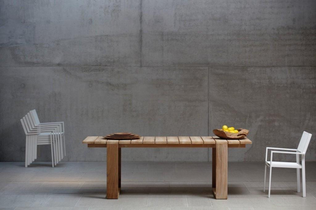 Gartentisch Teak Tisch GALLERY Esstisch für Wintergarten Jan Kurtz
