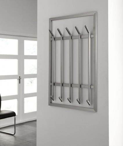wandgarderobe immo 5 xl aus edelstahl. Black Bedroom Furniture Sets. Home Design Ideas