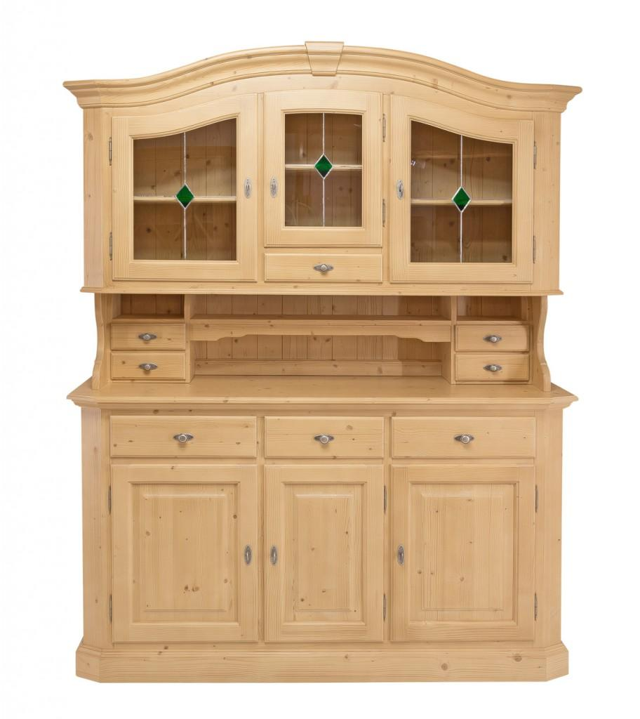 buffet k chenbuffet kiens gross geschirrschrank fichte. Black Bedroom Furniture Sets. Home Design Ideas