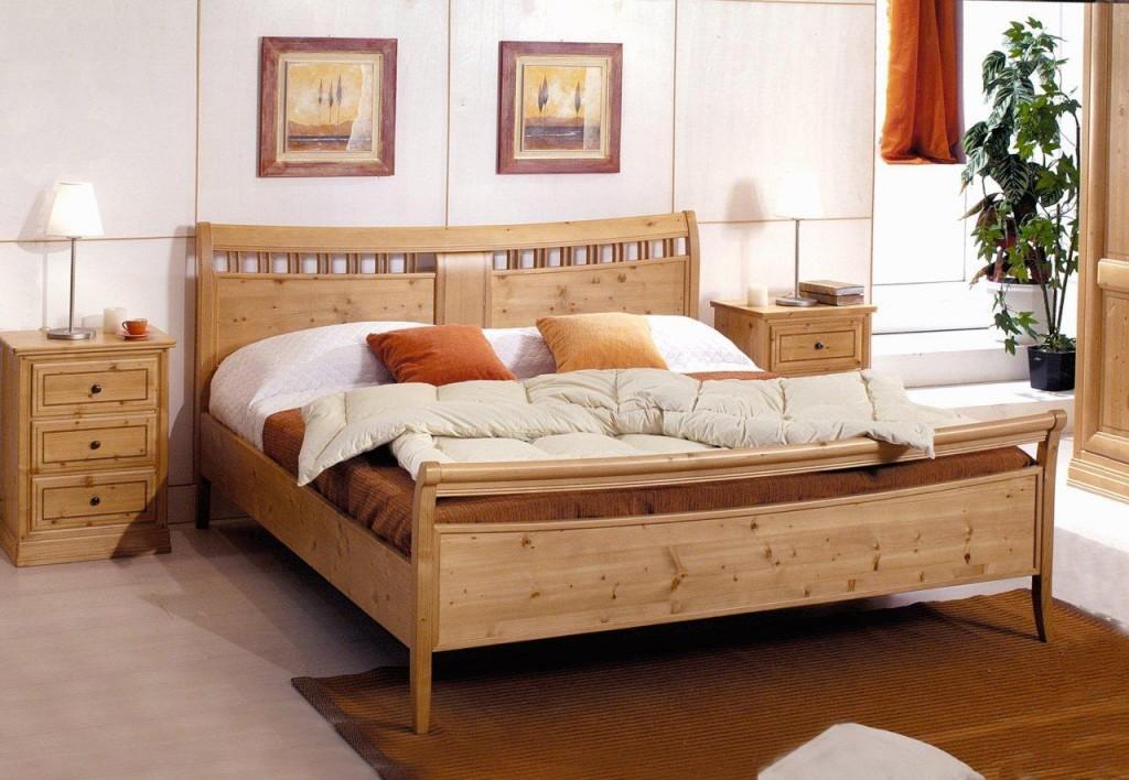 Doppelbett il sogno 180 x 200 cm fichte massiv honig for Bett ausstellungsstück