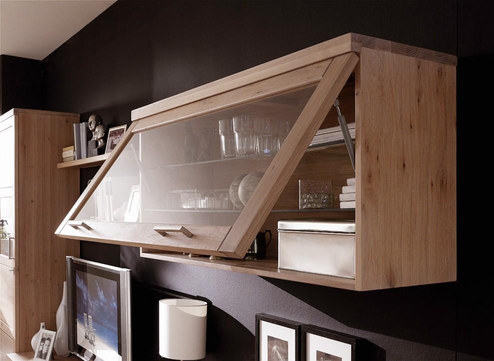 h ngeschrank mit klappe bianca 021 kernbuche oder wildeiche. Black Bedroom Furniture Sets. Home Design Ideas