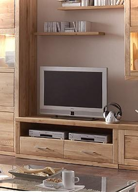 tv board lowboard bianca 020s 2 schubladen kernbuche oder wildeiche. Black Bedroom Furniture Sets. Home Design Ideas