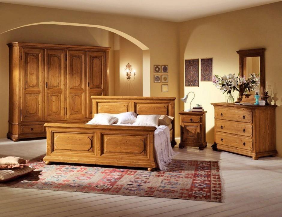 schlafzimmer tegernsee komplett mit 180er bett fichte. Black Bedroom Furniture Sets. Home Design Ideas