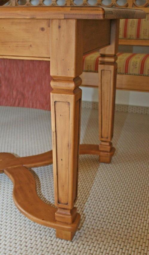 essgruppe girlande fichte massivholz lackiert. Black Bedroom Furniture Sets. Home Design Ideas