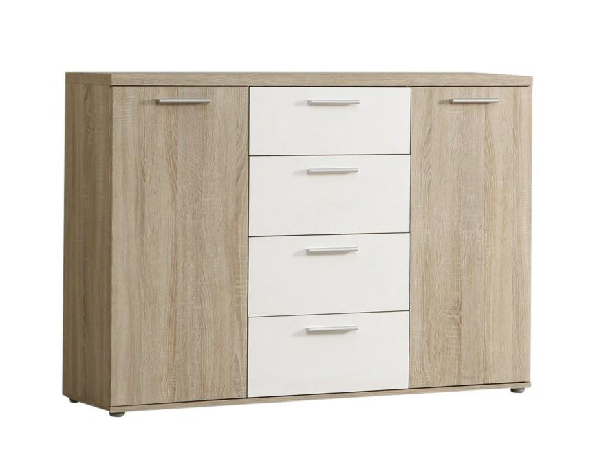 sideboard winnie kommode 4 schubladen und 2 t ren sonoma. Black Bedroom Furniture Sets. Home Design Ideas