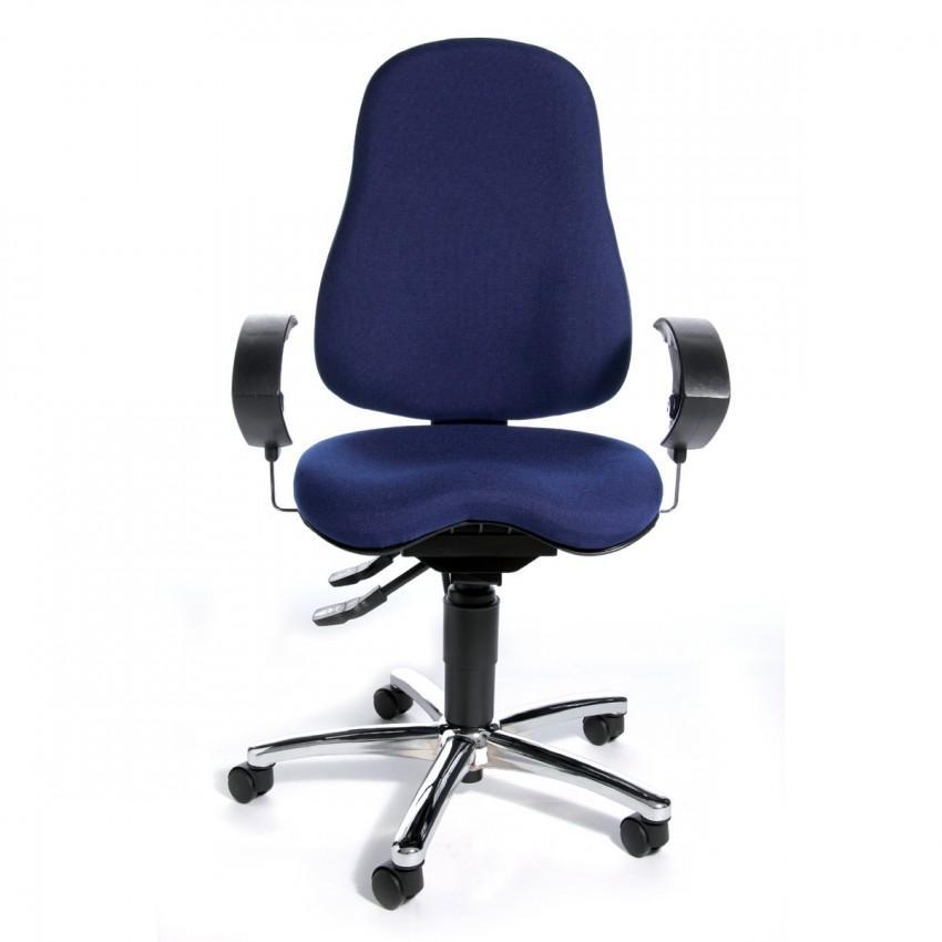 b rostuhl sitness 10 blau fitness orthositz body balance. Black Bedroom Furniture Sets. Home Design Ideas