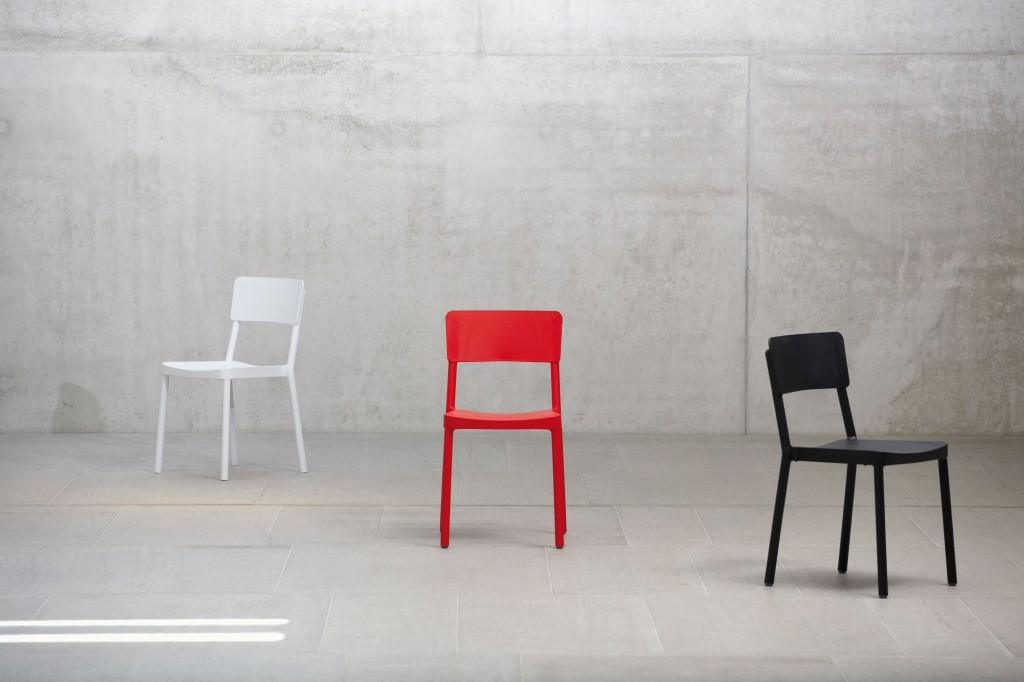Design Stuhl LISBOA von Jan Kurtz - wetterfest und stapelbar