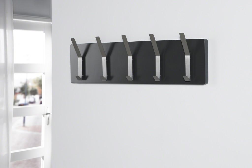 wandgarderobe immo 83 haken edelstahl r cken schiefergrau. Black Bedroom Furniture Sets. Home Design Ideas