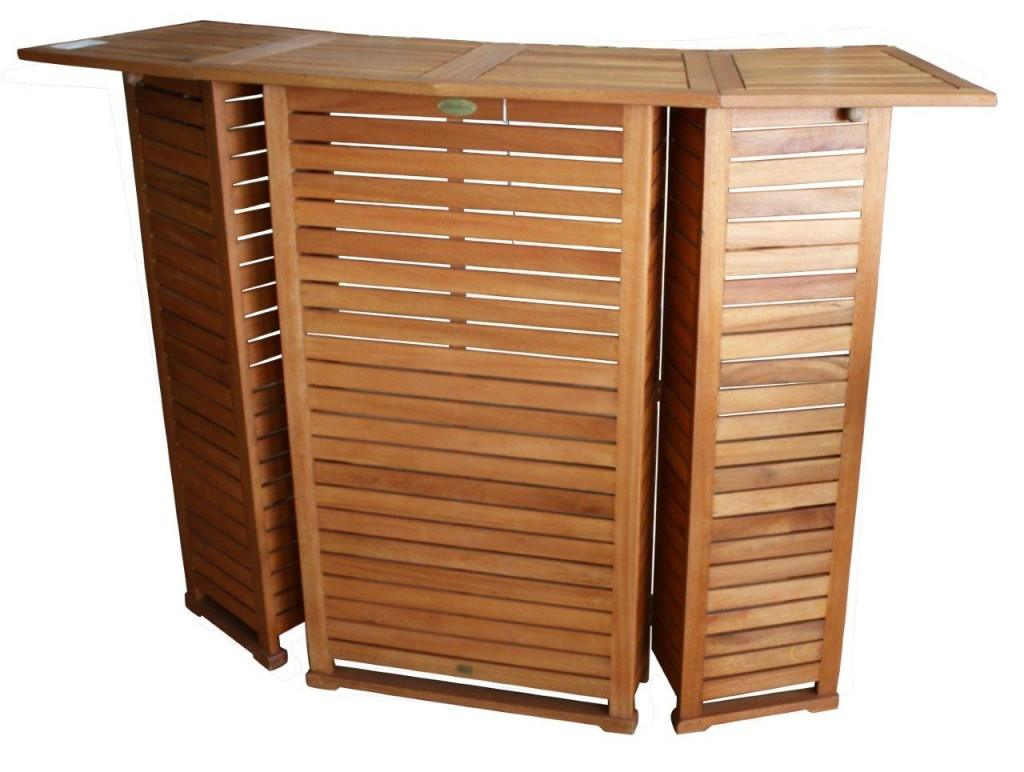 Bar Gartenbar Hausbar Poolbar in FSC Eukalyptus