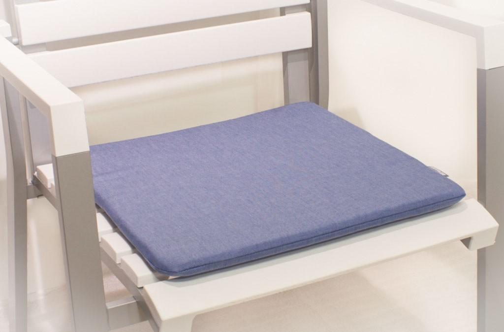 kettler sitzkissen kth1 bezug dralon blau 46 x 46 cm. Black Bedroom Furniture Sets. Home Design Ideas