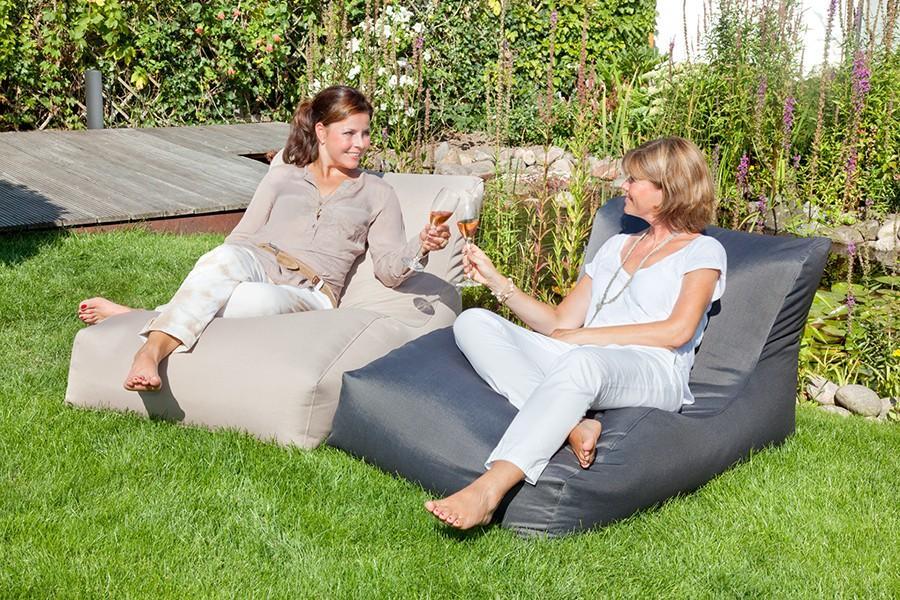 Gartenmobel Teak And More : OUTBAG WAVE Outdoor Liege in 2 Farben lieferbar wetterfest