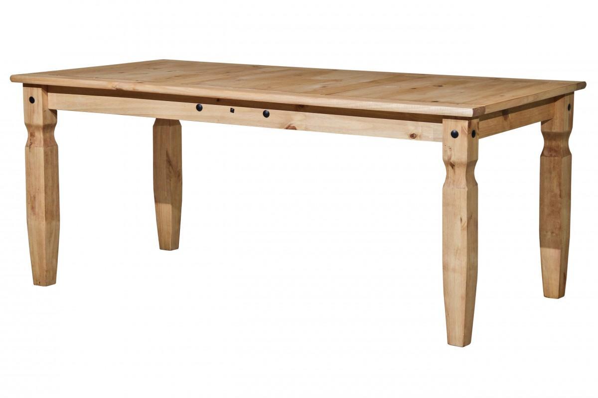 Tisch esstisch corona pinie massiv honigfarben gewachst for Tisch esstisch