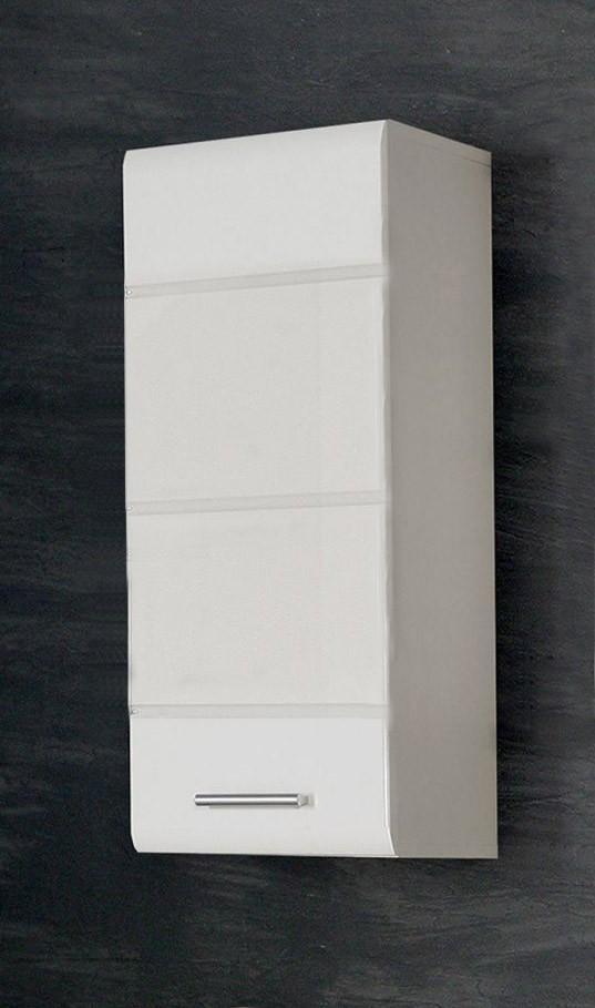 badezimmer h ngeschrank aveo 1 t r front wei hochglanz. Black Bedroom Furniture Sets. Home Design Ideas